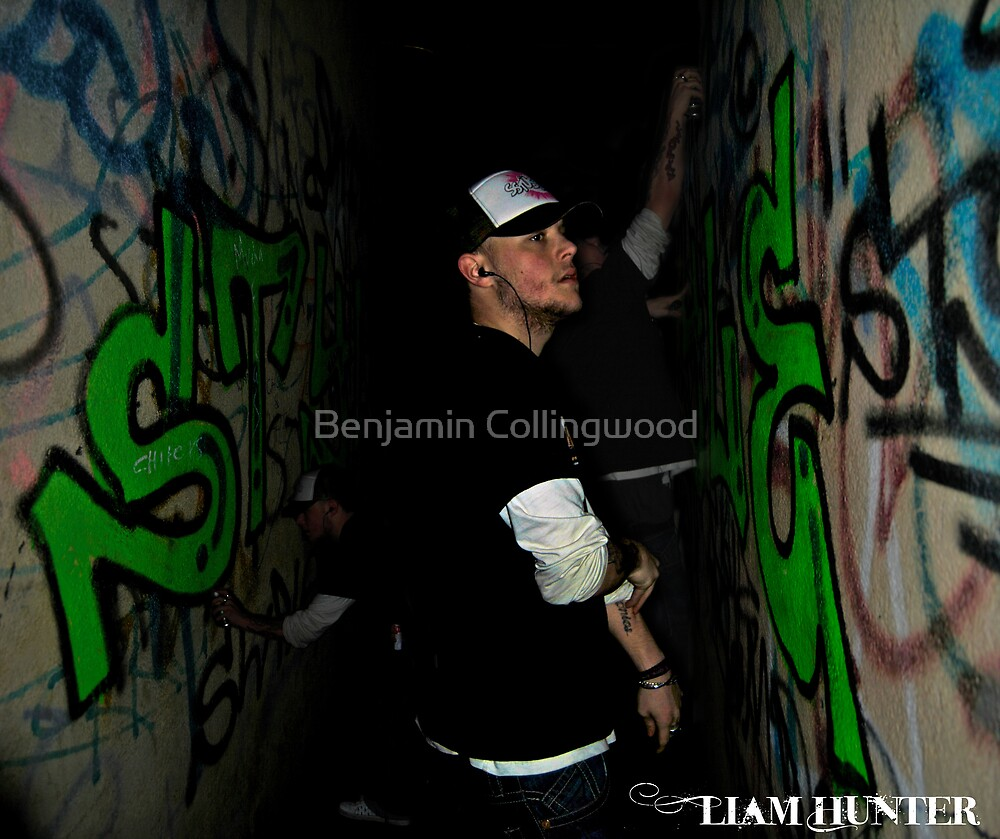 Liam Hunter: Tagger by Benjamin Collingwood