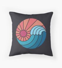 Sun & Sea Throw Pillow