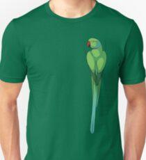 Indian Ringneck Parakeet Unisex T-Shirt