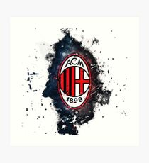 AC Mailand Kunstdruck