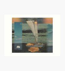 Sun Set Sail Art Print