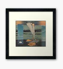Sun Set Sail Framed Print