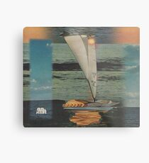 Sun Set Sail Metal Print