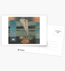 Sun Set Sail Postcards