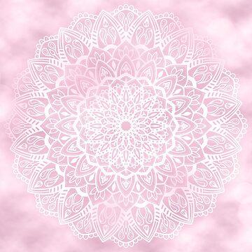 Pink Sky Mandala by kellydietrich