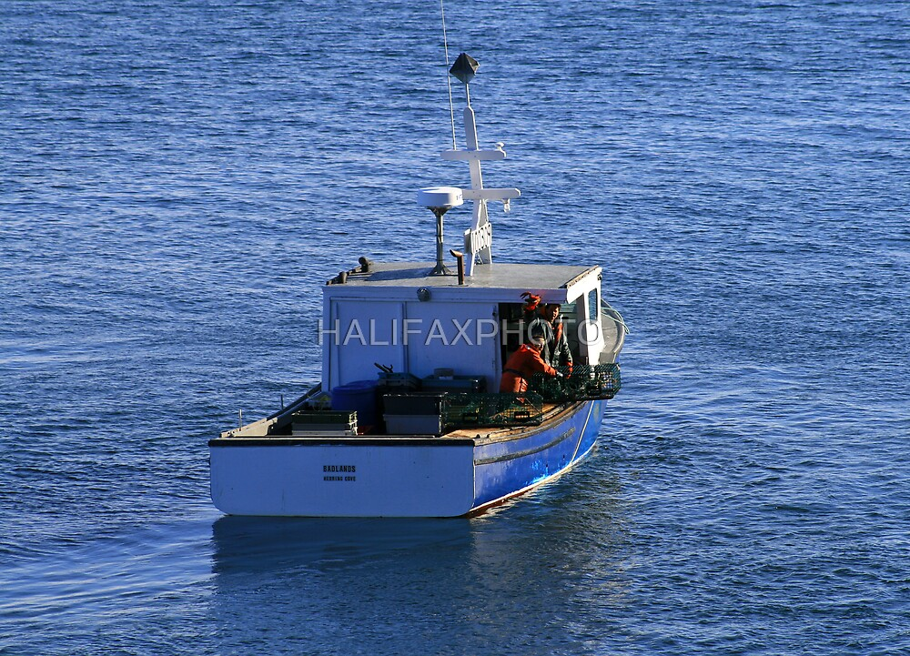 Hauling Traps by HALIFAXPHOTO
