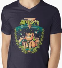 A Kitty to the past Men's V-Neck T-Shirt
