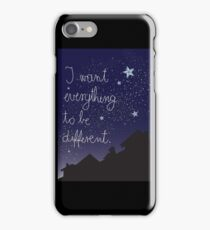 Difference iPhone Case/Skin
