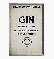 Shelby Company Gin Photographic Print
