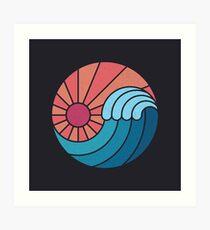 Sun & Sea Art Print