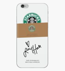 Lucy Hale Coffee iPhone Case