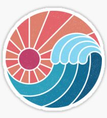 Sun & Sea Sticker