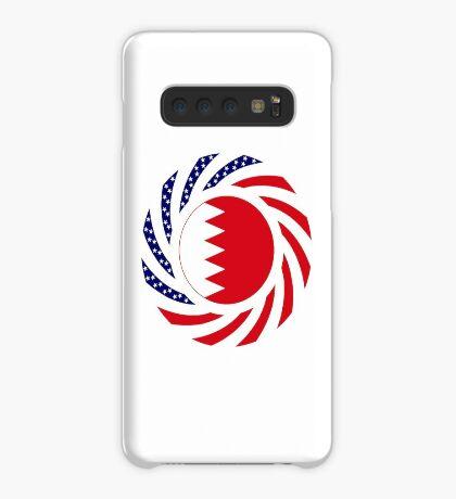 Bahrain American Multinational Patriot Flag Series Case/Skin for Samsung Galaxy