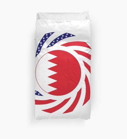 Bahrain American Multinational Patriot Flag Series Duvet Cover
