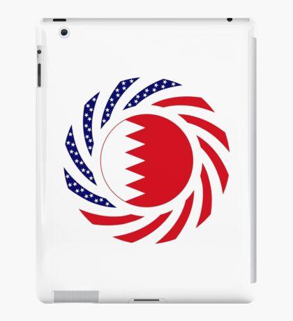 Bahrain American Multinational Patriot Flag Series iPad Case/Skin