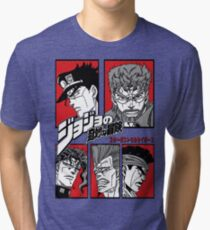 Stardust Crusaders  Tri-blend T-Shirt