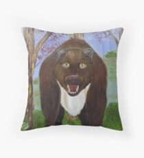 Americas Largest Preditor Throw Pillow