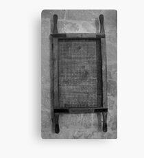 Old sieve Canvas Print