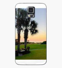 Palmetto Sunset Case/Skin for Samsung Galaxy