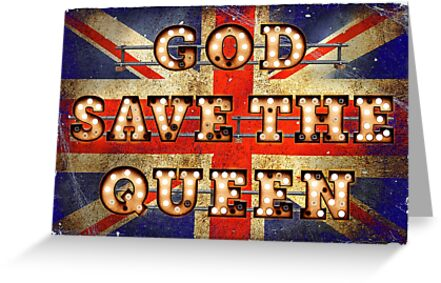 God save the Queen - GB by Art-Frankenberg