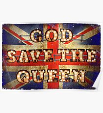 God save the Queen - GB Poster