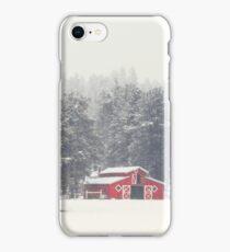 Flagstaff, Az - Red Barn iPhone Case/Skin