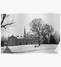 Old Kenyon in Winter Poster
