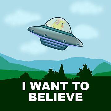 ufo birb by FandomizedRose