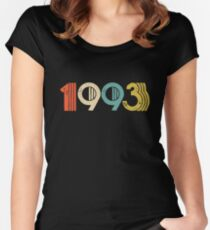 Vintage 1993 - 25th Birthday Women's Fitted Scoop T-Shirt