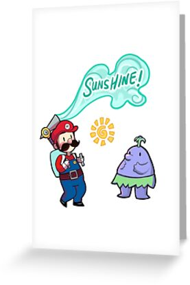 Super Mario Sunshine by honeytiger