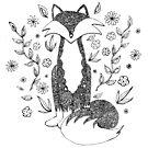 Mr. Doodle Fox by tekslusdesign