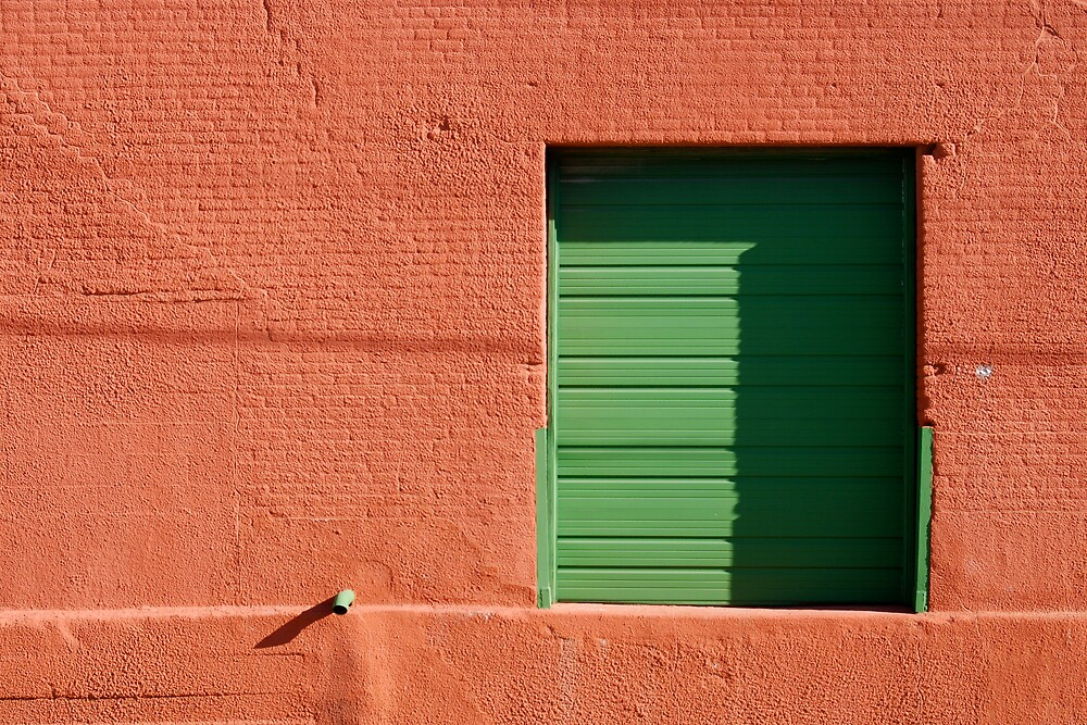 Green Door by Robert Baker
