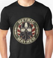 Metric Mayhem Rider Face Unisex T-Shirt