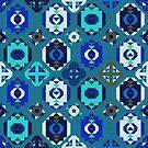 Blue Kilim by camcreativedk