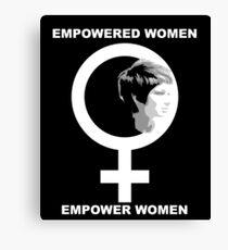 Empowered Women Empower Women  Canvas Print