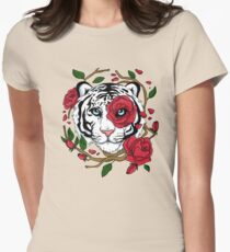 White Tiger Women's Fitted T-Shirt