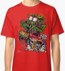Retro Drag Racing Hot Rod gasser. Classic T-Shirt