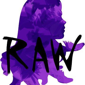 Purple raw girl by JuliaMaud