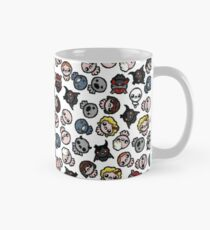 The Binding of Isaac characters pattern + Classic Mug