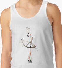 Ballet Dance Drawing Tank Top