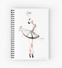 Ballet Dance Drawing Spiral Notebook