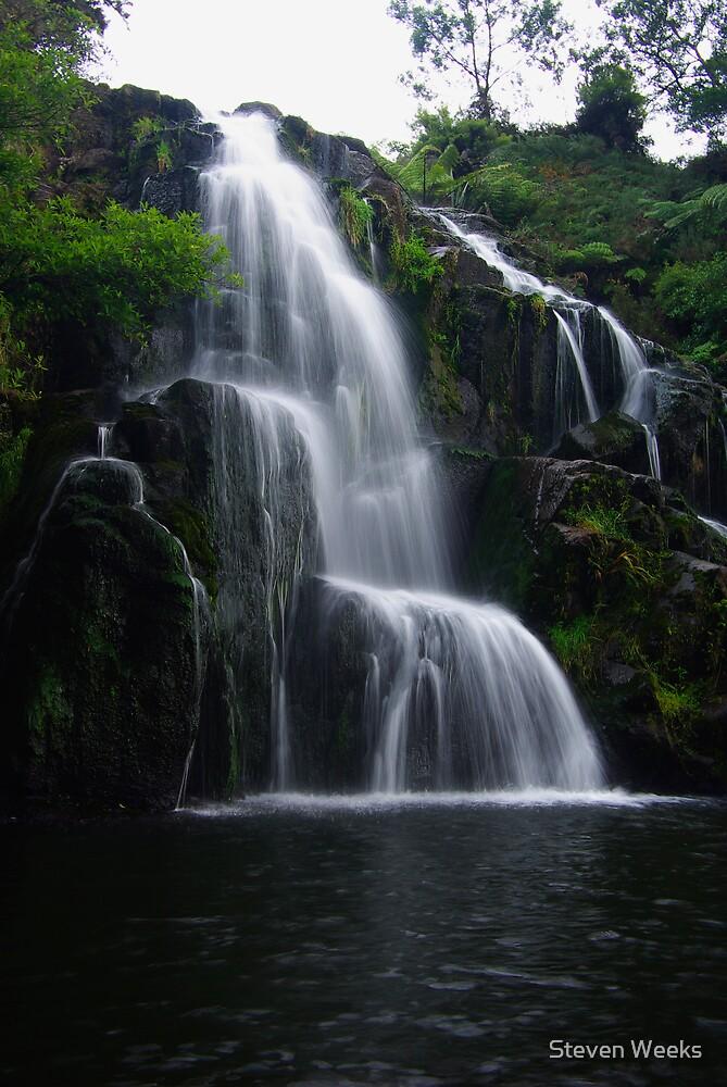 Owharoa Falls by Steven Weeks