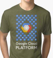 Google Cloud Platform Tri-blend T-Shirt