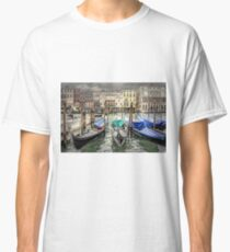 Rainy day on The Grand Canal in Venice Classic T-Shirt