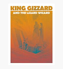 king gizzard and the lizard wizard Photographic Print