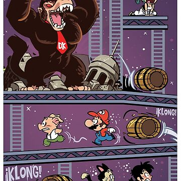 Dragon Kong Ball Super by gameboylands