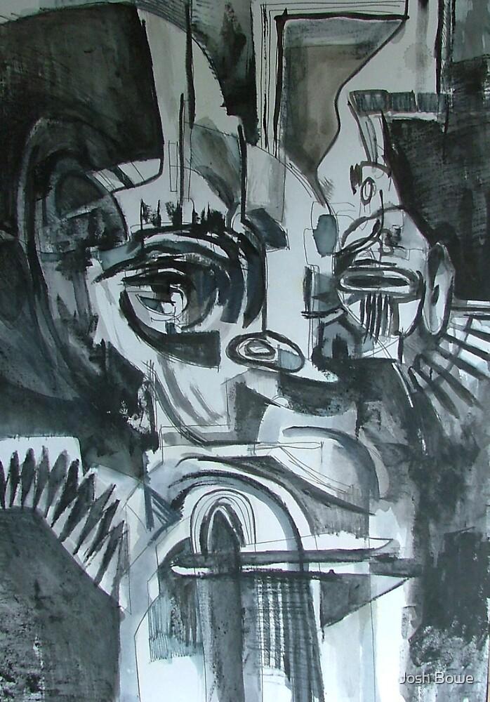 Abstract Mask 2 by Josh Bowe