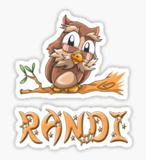 Randi Owl Sticker