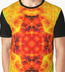 Maple Fire Mandala Graphic T-Shirt