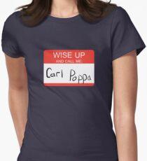Carl Poppa. Women's Fitted T-Shirt